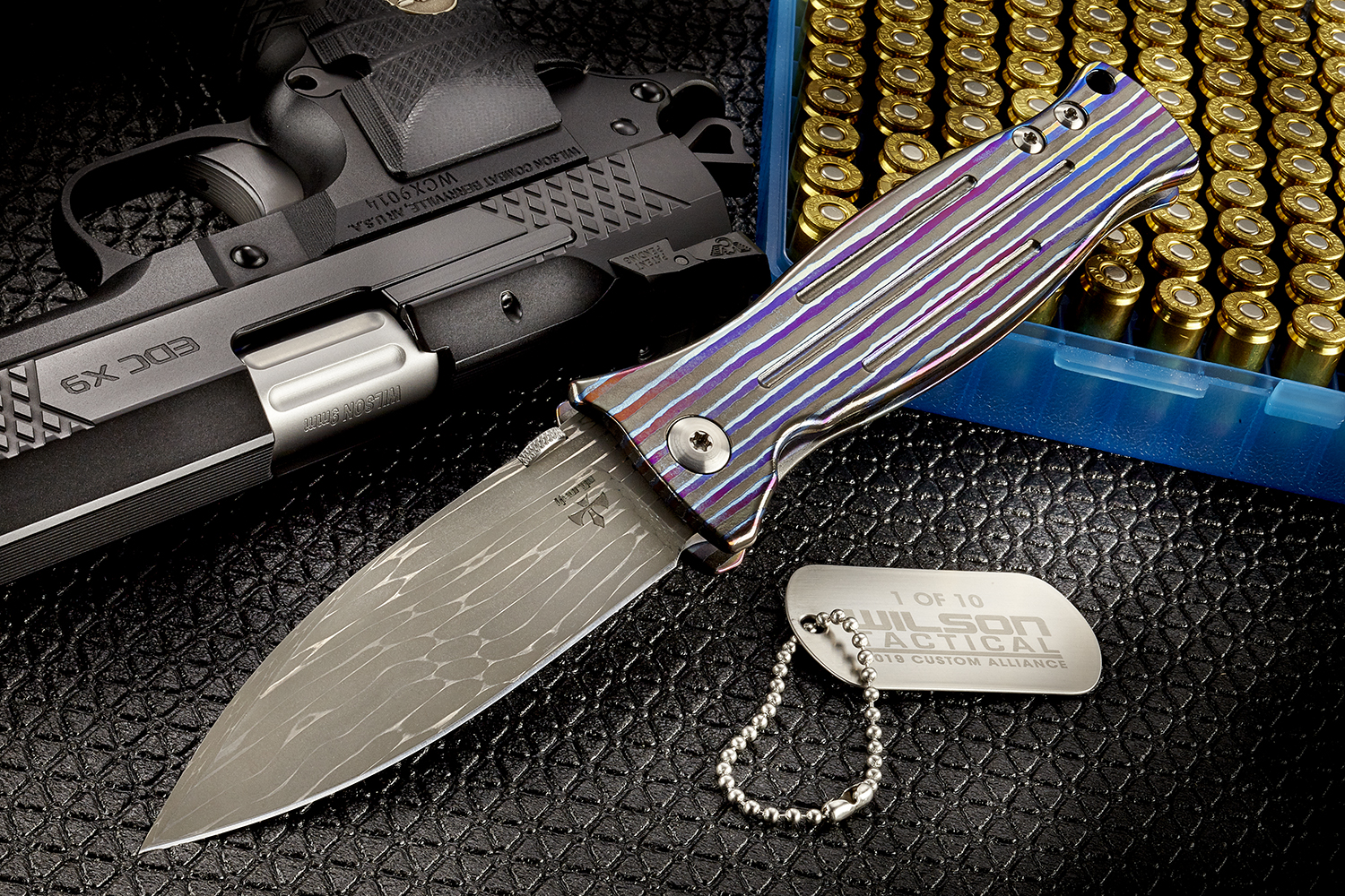 WILSON COMBAT ANNOUNCES NEW DAMASCUS/ZIRCUTI ASSASSIN FRAMELOCK FOLDER KNIFE