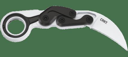 crkt provoke imperial white knife karambit