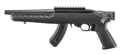 ruger 22 charger brace-ready picatinny mount