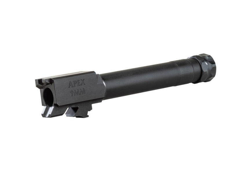 apex tactical smith and wesson sdve 9mm threaded barrels 1