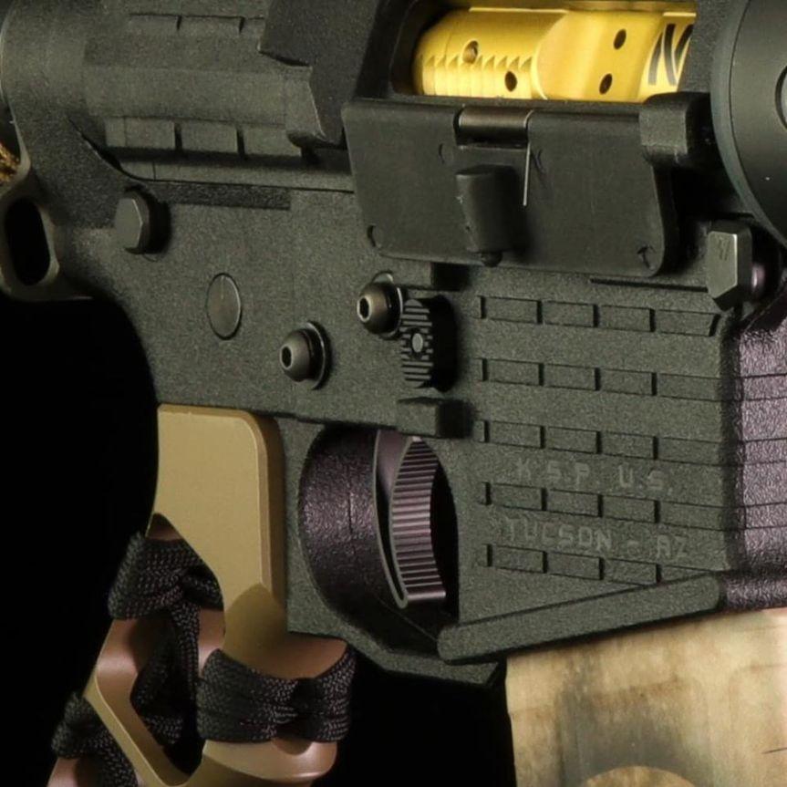 elftmann tactical Elf Pro component trigger ELF PRO-LOCK threaded mounting system 2