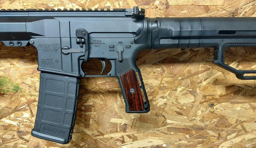 indignant arms streamline accented AR15 grips wood ar15 grip  1.jpeg