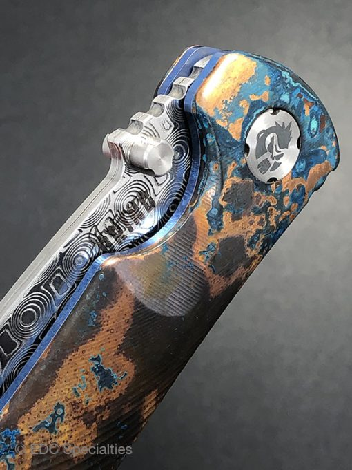 SOUTHERN GRIND AND EDC SPECIALTIES TEAM UP TO INTRODUCE COPPER PATINA SPIDER MONKEY KNIFE