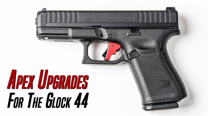 apex tactical glock 44 flat trigger apex trigger glock 44 rimfire 22lr 1