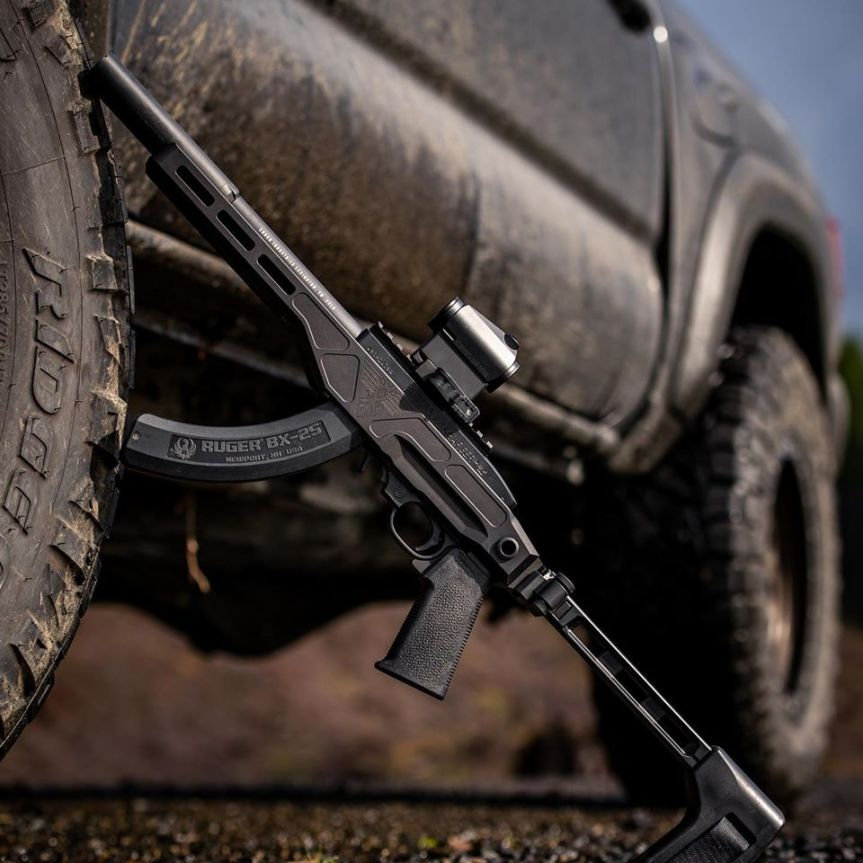 enoch industries deep six chassis system ruger 1022 chassis ss