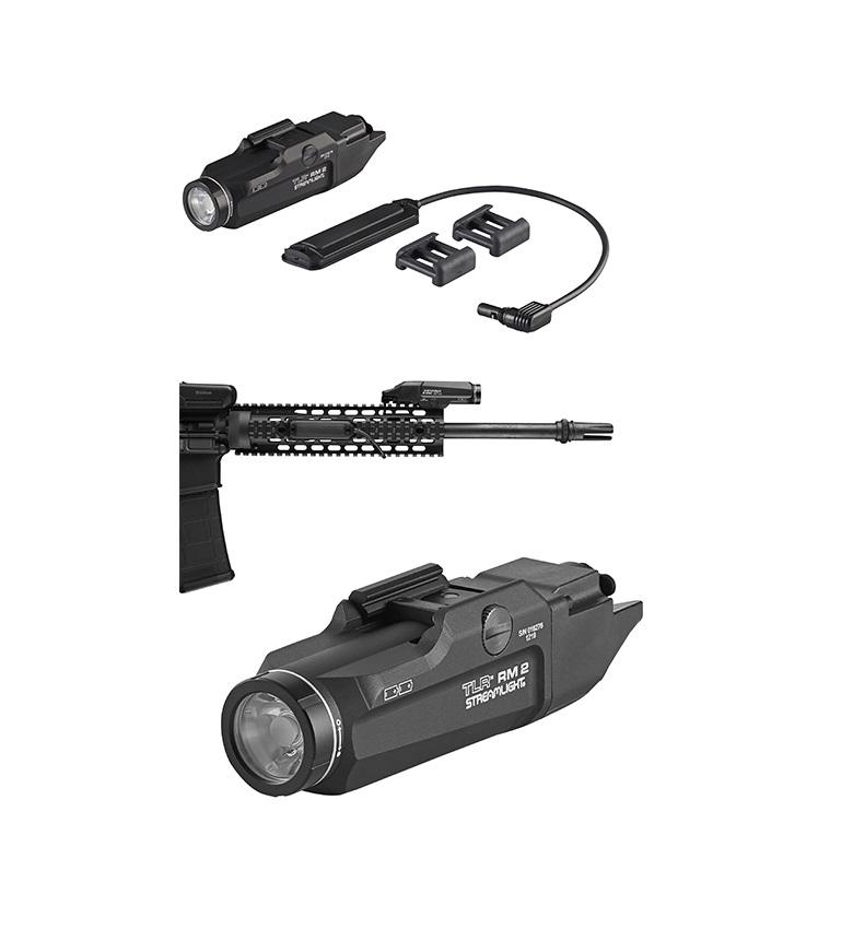 streamlight tlr-rm2 rifle light system push button ar15 tactical light 2