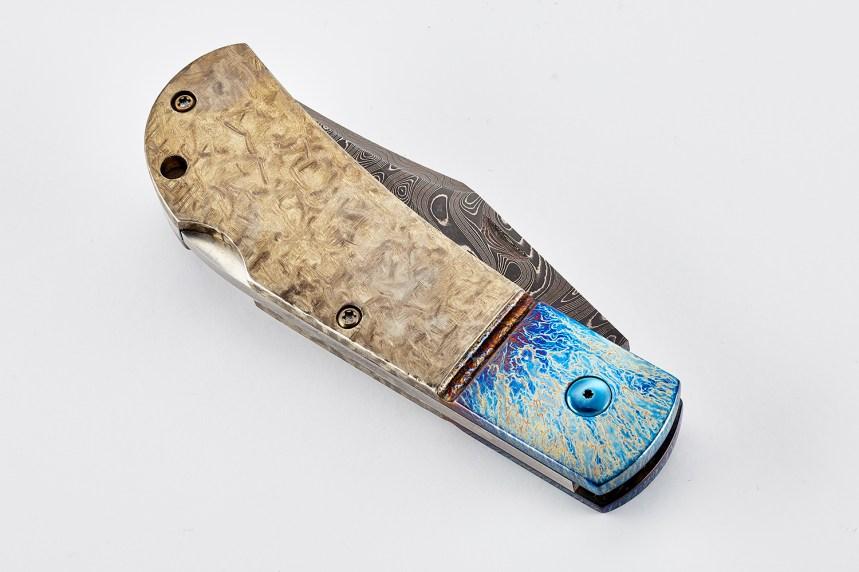 wilson combat damascus combat clip michael vagnino custom alliance knife