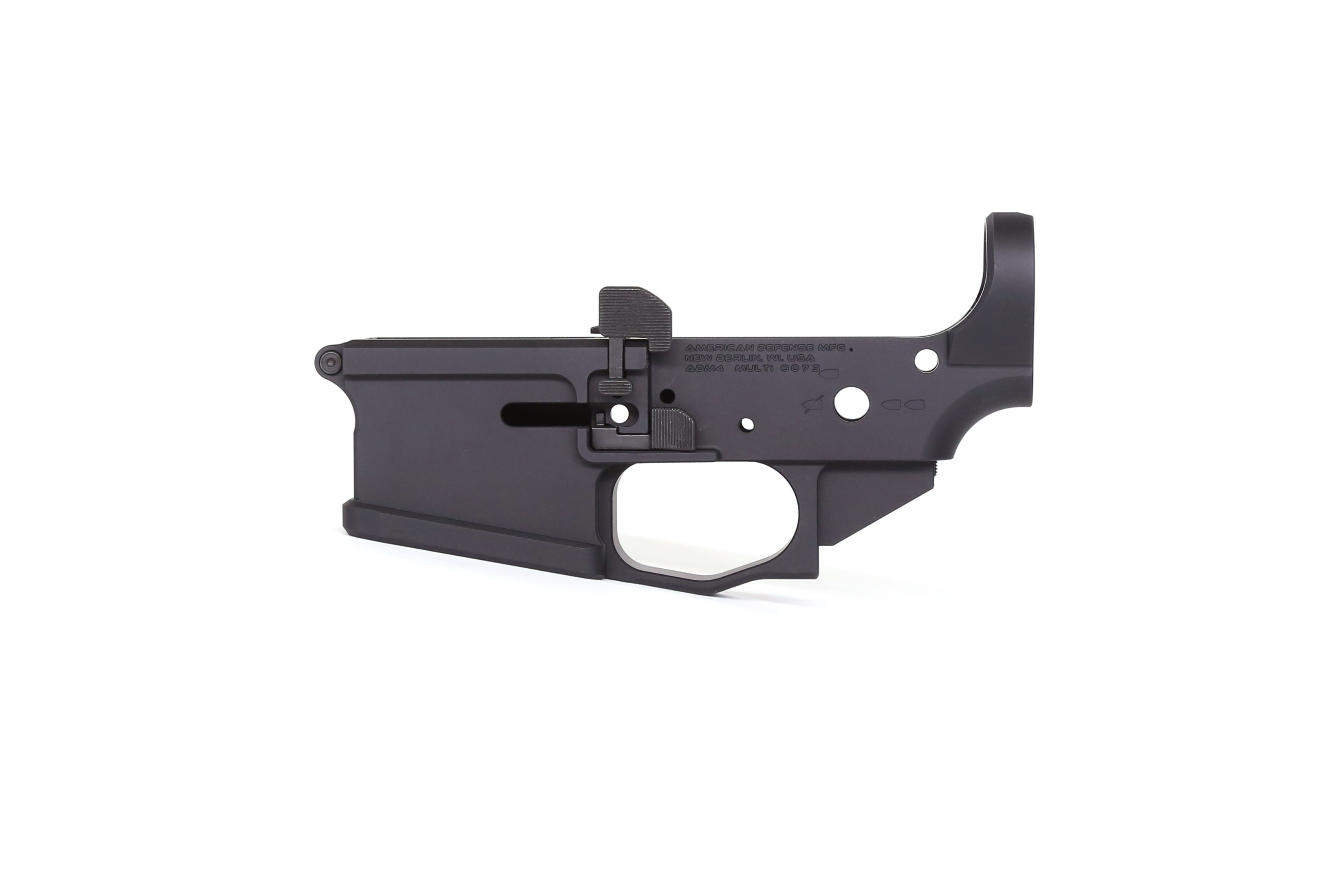AMERICAN DEFENSE MFG ROLLS OUT ADM4 DUTY SERIES LOWER RECEIVERS