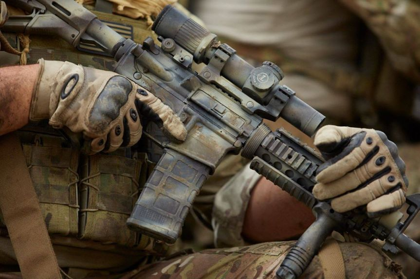 fn us army m4 mra1 carbine rifles military arms a