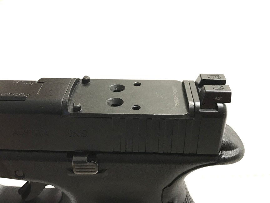 forward controls designs opf-g rmr optics mount plat glock mos mount plate rmr 3