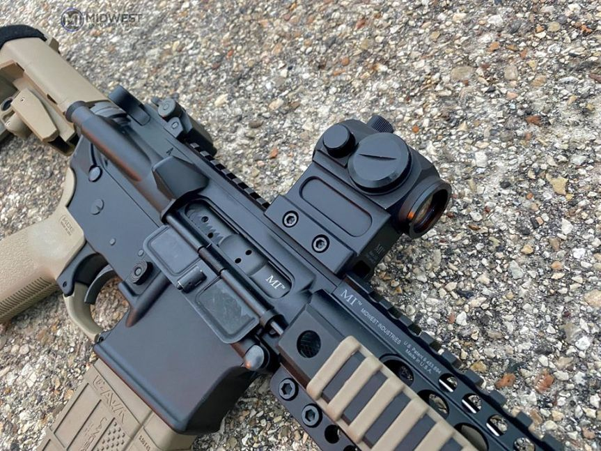 midwest industries non qd optic mounts mro aimpoint trijicon mount 2