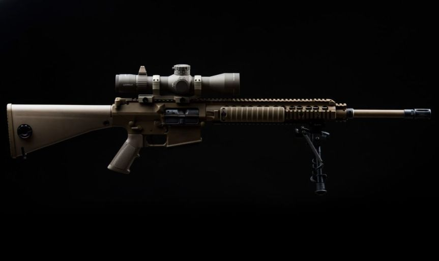 LEUPOLD OPTICS ANNOUNCES THE MARK 5HD 3.6-18x44 RIFLE SCOPE CHOSEN FOR ARMY M110 RIFLE 2