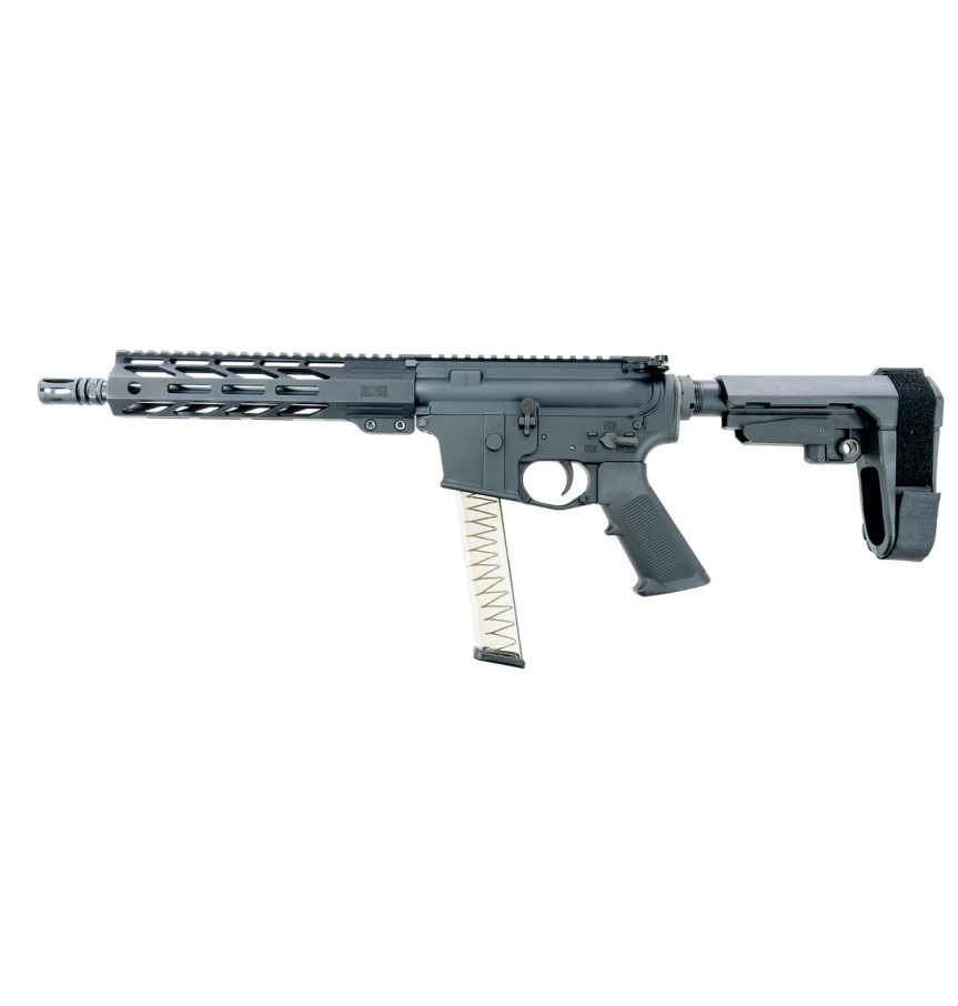 faxon firearms 9mm pcc pistol caliber carbine 9mm AR-9 pistol ar15 4