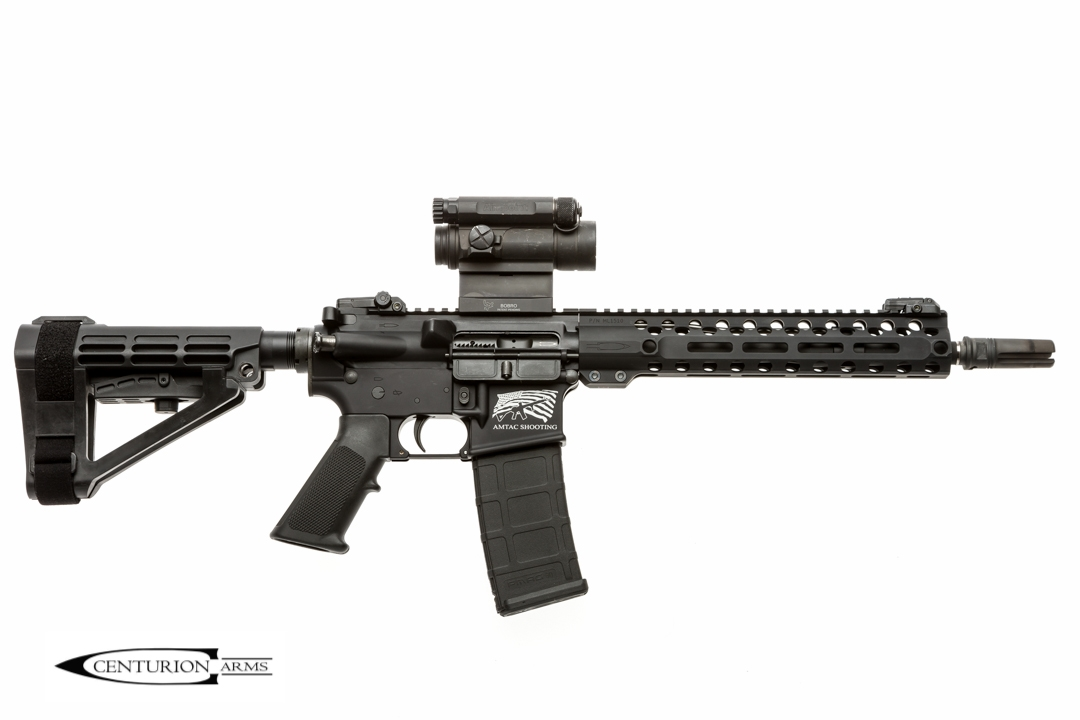 CENTURION ARMS AND AMTAC SHOOTING TEAM UP TO INTRODUCE THE COMPLETE CARBINE RIFLE AND PISTOL