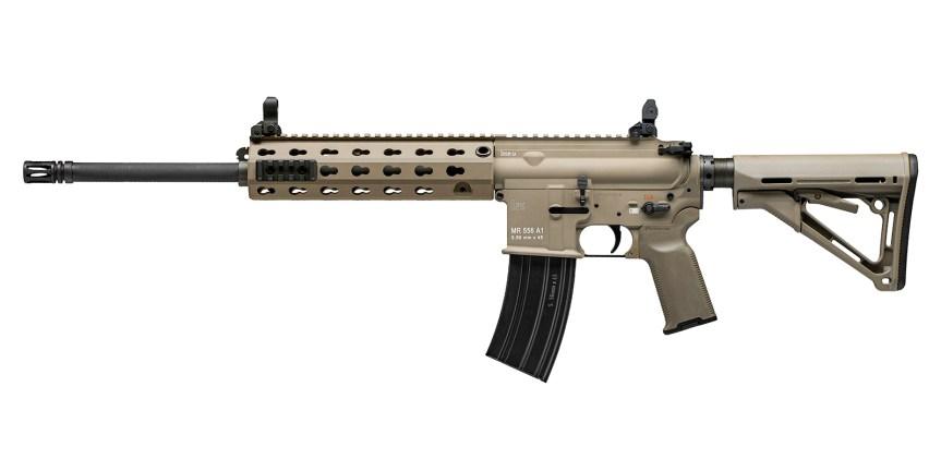 heckler and koch hk mr556a1 fde rifle ar-15 ar15 m4 hk rifle 2