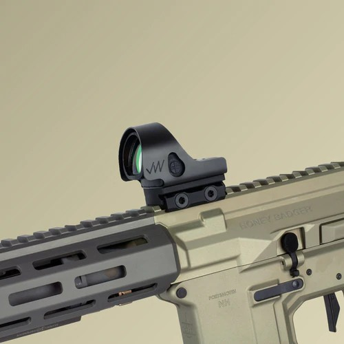 jagerwerks bros battle ready optic shield trijicon sro red dot sight 3