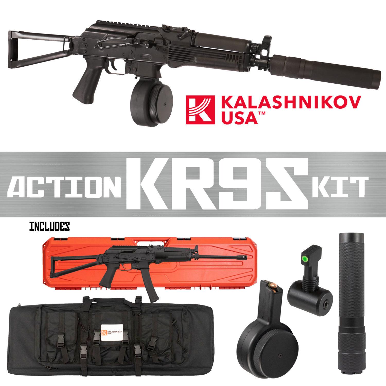KALASHNIKOV USA LAUNCHES THE ACTION KR9S KIT