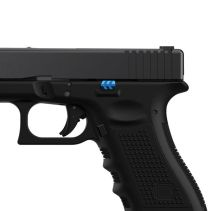 tyrant designs cnc glock slim line pistol extended slide release slide stop glock 43x glock 48