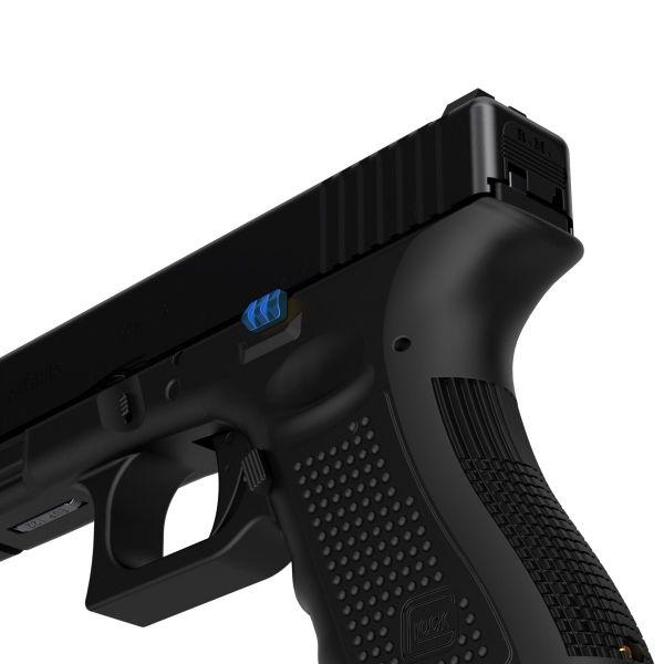 tyrant designs cnc glock slim line pistol extended slide release slide stop glock 43x glock 48 8