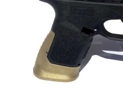 80 percent arms brass competition grip 80 percent glock