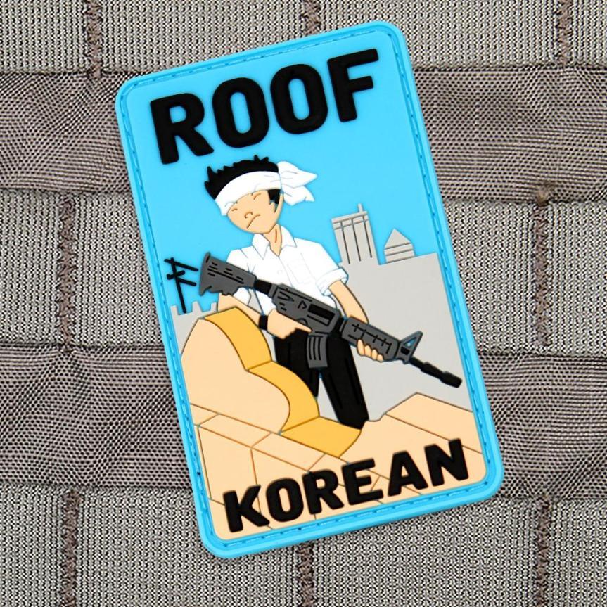 Violent Little Machine Shop morale patch roof top koreans morale patch edc range bag 1