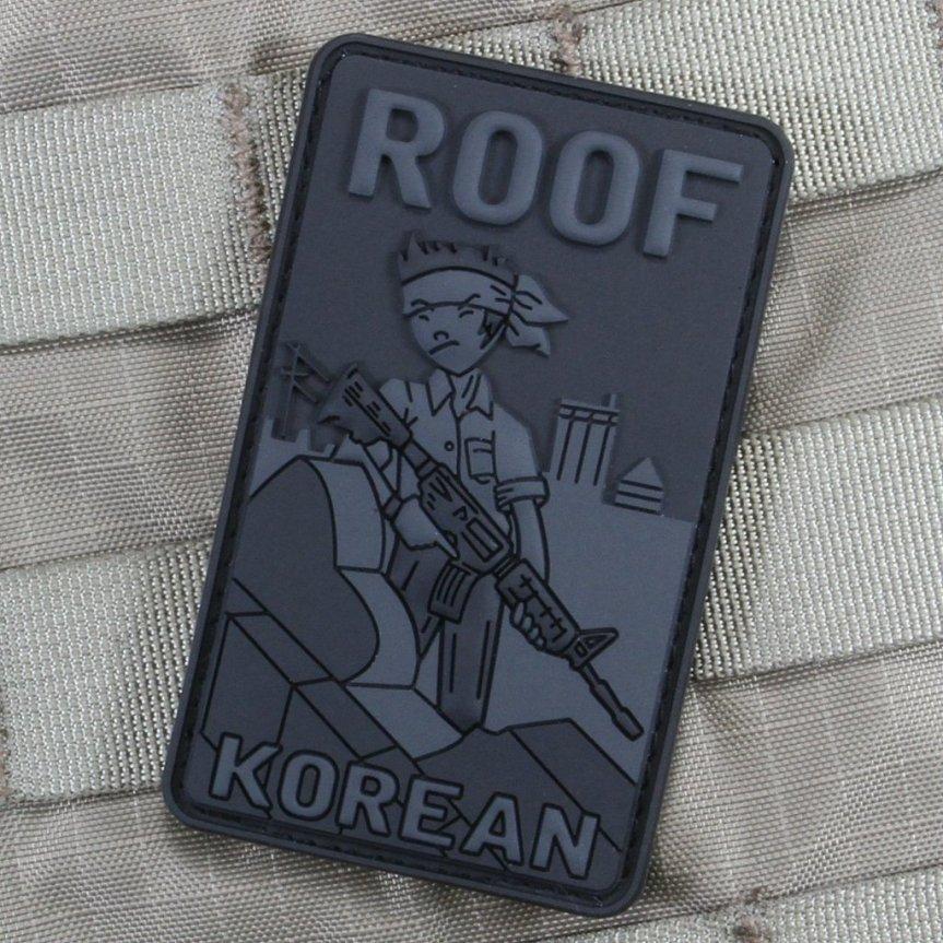 Violent Little Machine Shop morale patch roof top koreans morale patch edc range bag 3