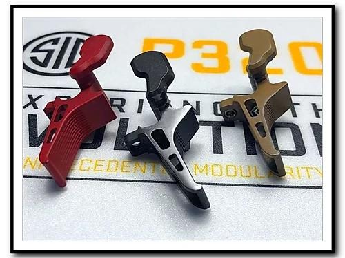 armory craft sig sauper p320 flat triiger adjustable sig p320 x5 legion m17 m18 trigger 9mm 3