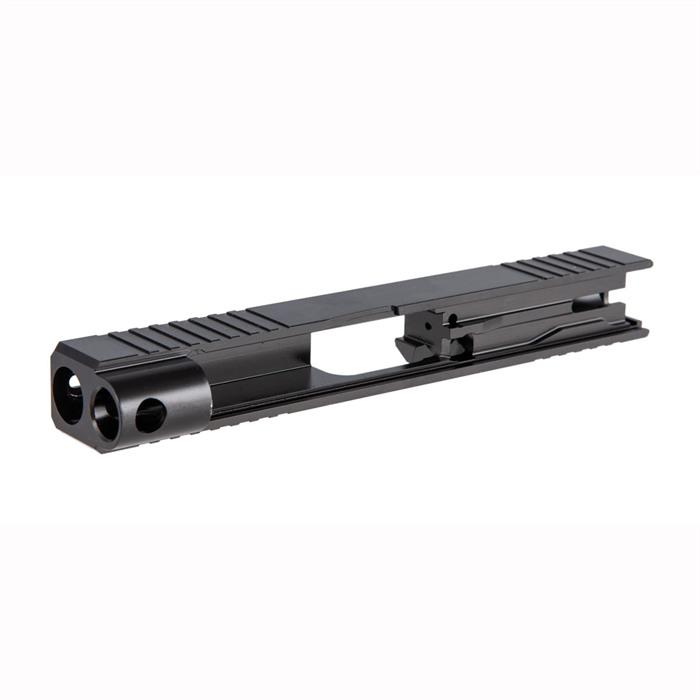 brownells glock 48 slide custom glock 48 slide work rmr cut 1