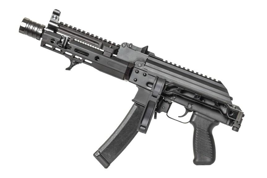 jmac customs ab-8r arm bar pistol brace ak brace folding picatinny stock mount 2