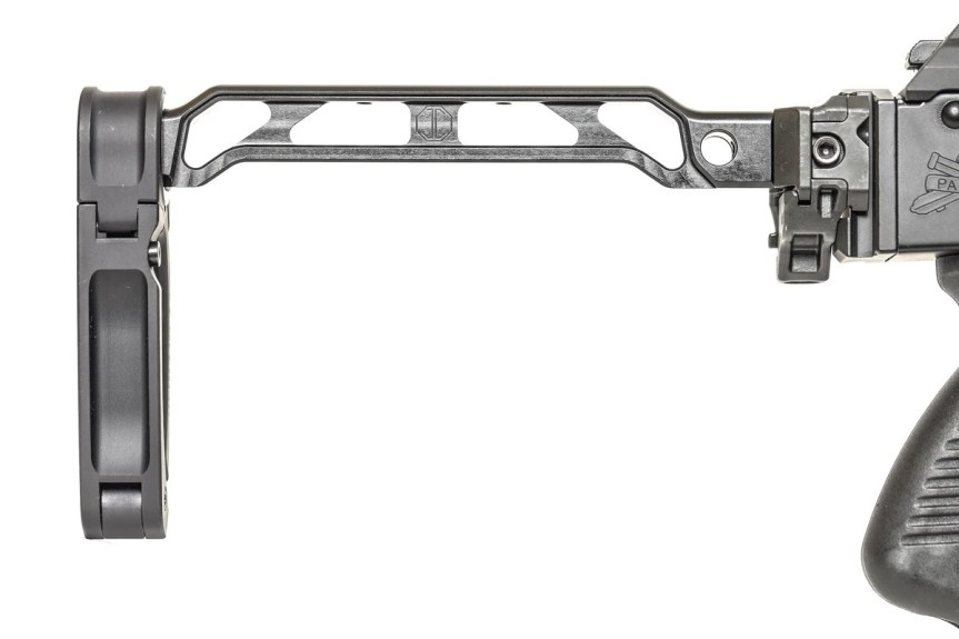 jmac customs ab-8r arm bar pistol brace ak brace folding picatinny stock mount 5