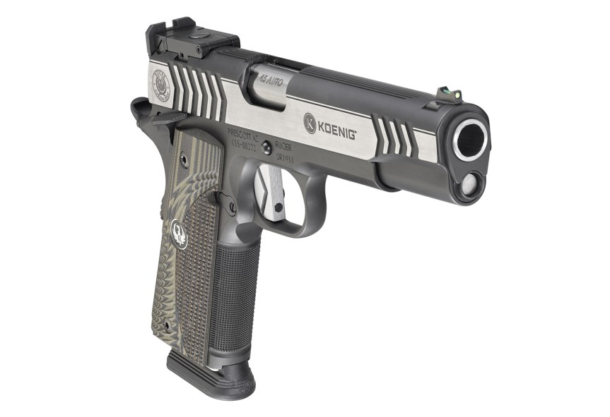 ruger custom shop 1911 competition pistol 6776 45 acp 1911 1