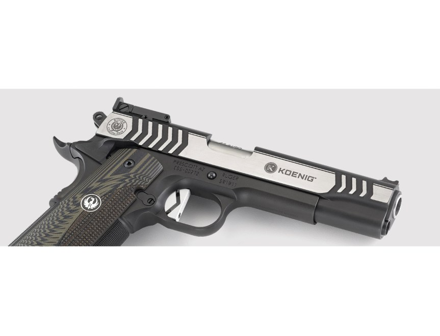 ruger custom shop 1911 competition pistol 6776 45 acp 1911 a