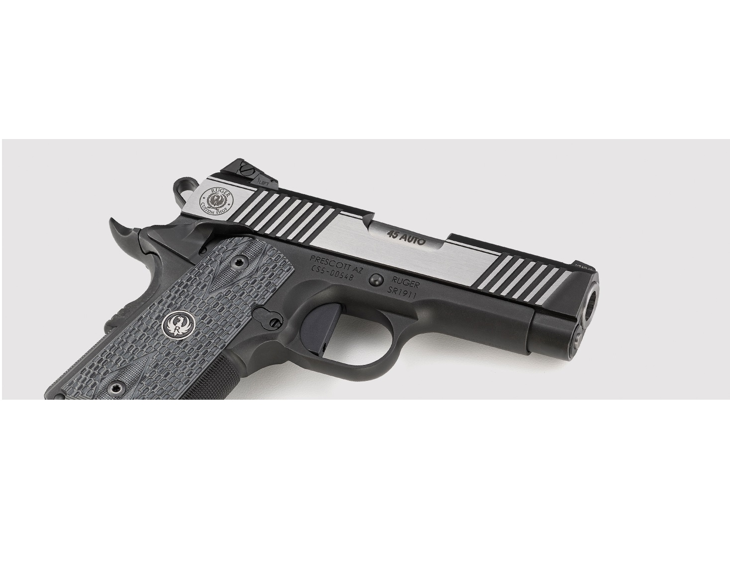 RUGER EXPANDS CUSTOM SHOP SR1911 WITH NEW OFFICER-STYLE MODEL