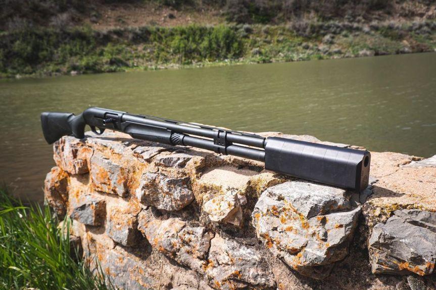 silencerCo salvo 12 gauge shotgun silencer shotgun suppressor 1