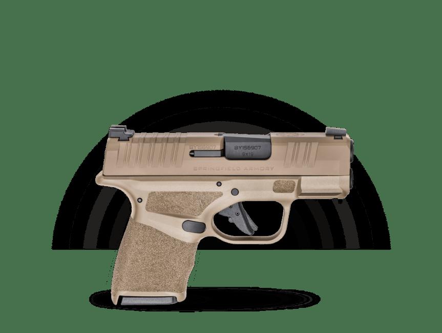 springfield armory desert fde hellcat pistol 9mm HC9319F HC9319FOSP 1