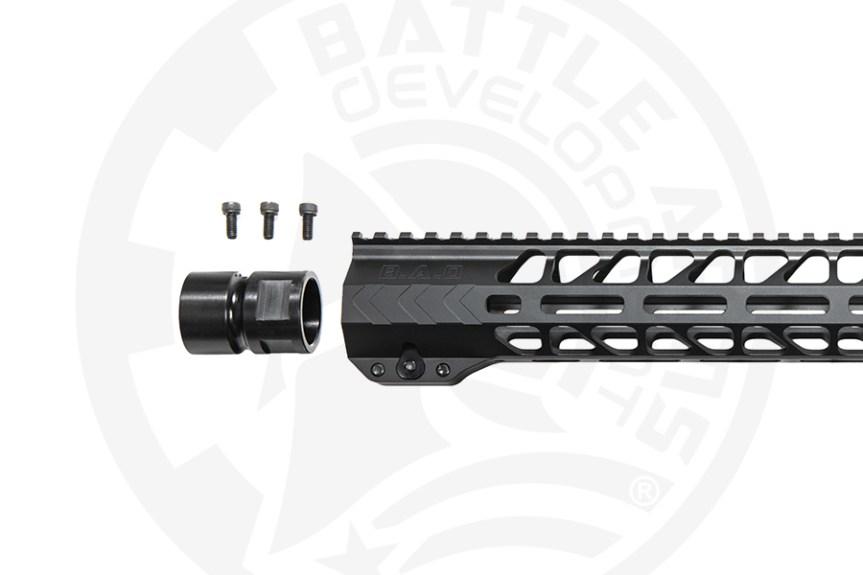 battle arms development 13 inch ar15 handguard mlok 4
