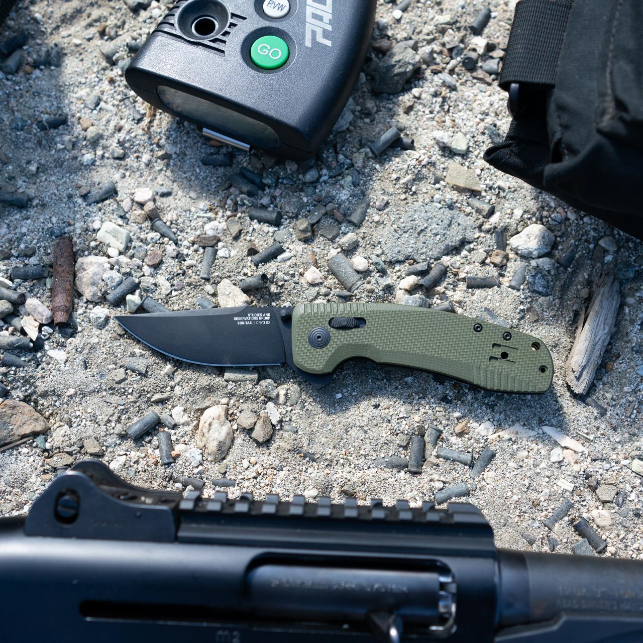 SOG KNIVES DEBUTS THE SOG-TAC XR KNIFE SERIES