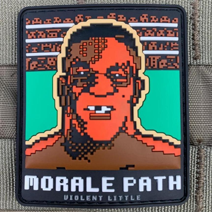 violent little machine shop mike tyson morale patch range bag 1