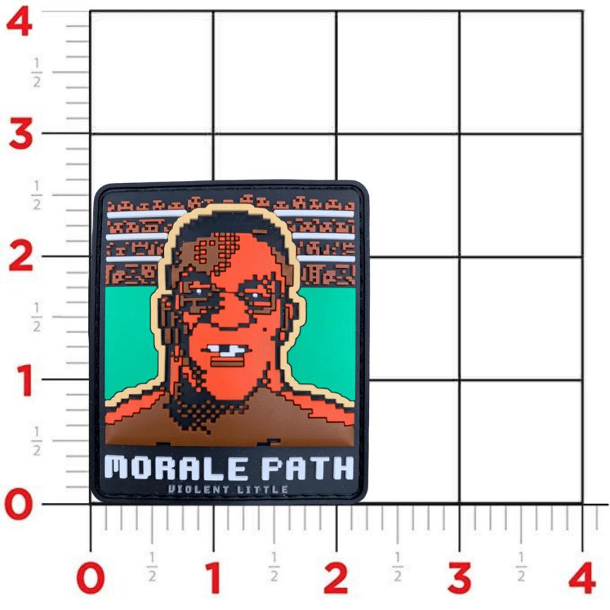 violent little machine shop mike tyson morale patch range bag 3