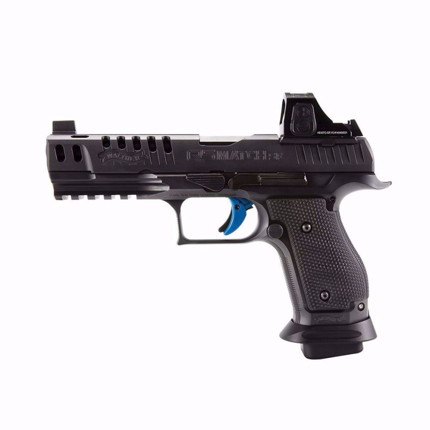 walther arms q series back up sights rmr footprint 1