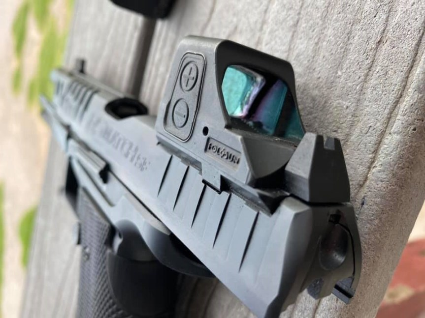 walther arms q series back up sights rmr footprint 5