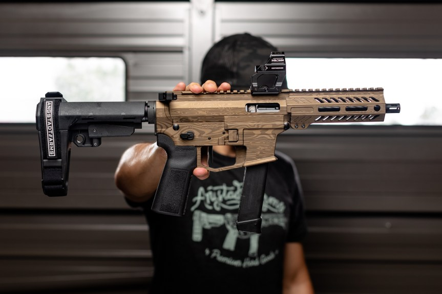 anstadt arms udp-9 ar-9 pistol pcc pistol caliber carbine 9mm 4