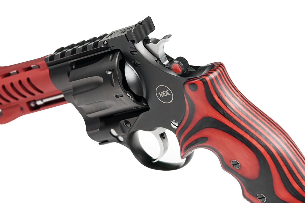 nighthawk customs korth revolvers korth nxa 8 shot 357 magnum revolver wheel gun light barrel