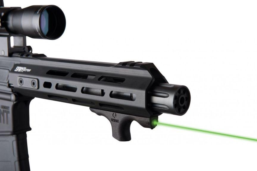 viridian weapon technologies hs1 laser handstop mlok handstop laser green beem 3