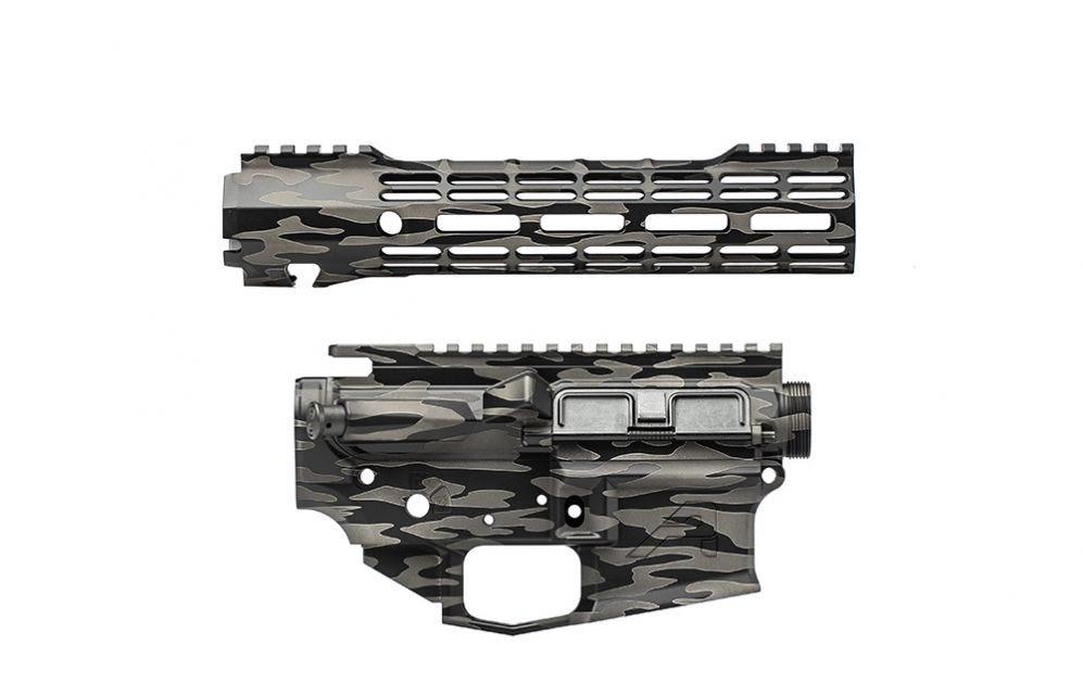 Aero precision builder sets m4e1 ar-15 ar15 midnight haze rifle