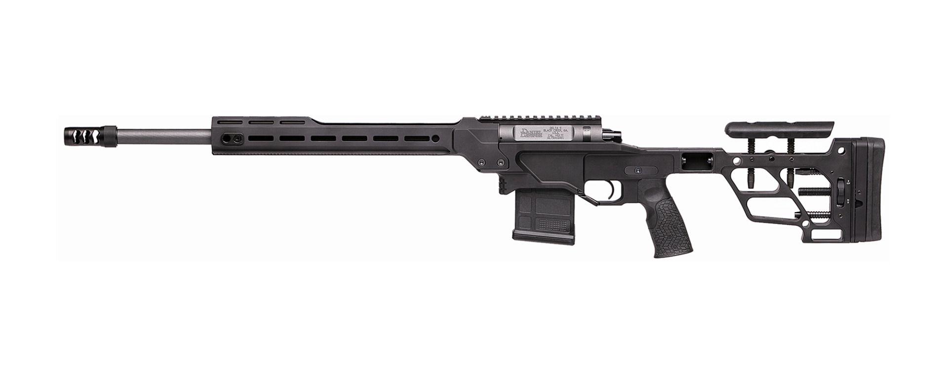 daniel defense delta 5 pro precision rifle bolt action sniper rifle 6mm CR 6.5 creedmoor