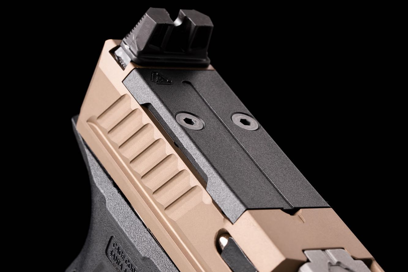 strike industries liteslide custom glock slide glock 19 slide serrations G17 gen3 slide cuts