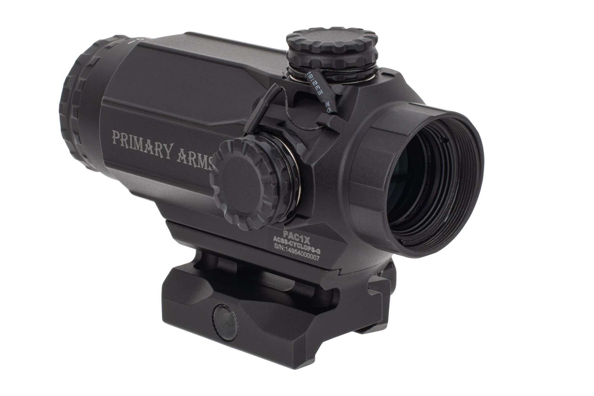 Primary Arms SLx Compact 1x20 Prism Scope - Green Illuminated ACSS-Cyclops PAC1X-ACSS-CYCLOPS-G