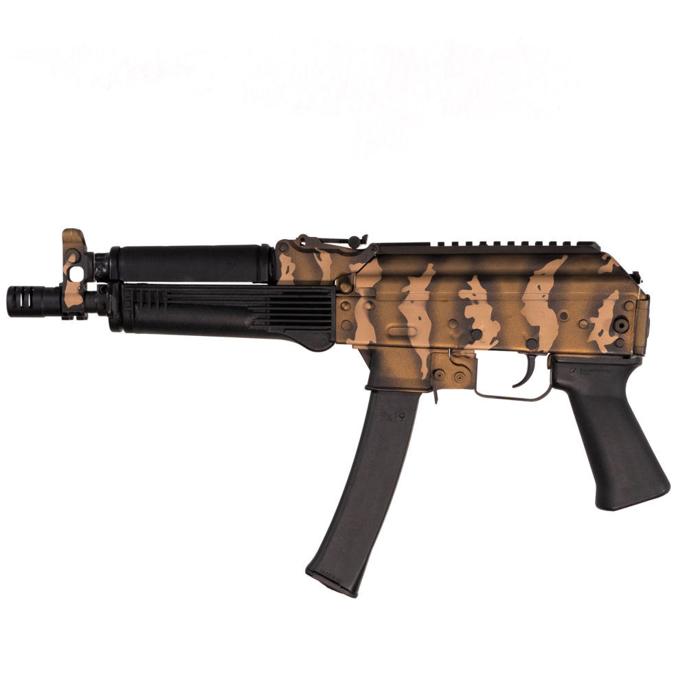 KALASHNIKOV USA RELEASES LIMITED EDITION RUSSIAN TIGER CAMO KP-9