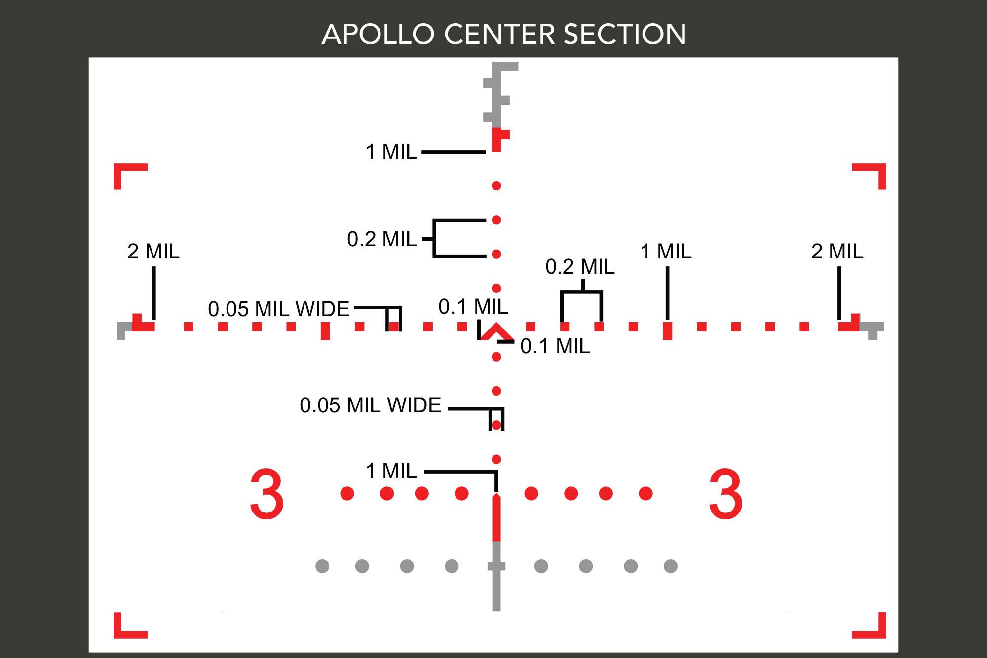 primary arms glx 4-16x50 ffp first focal plain precision scope acss apollo 6.5cm PA-GLX-4-16X50F-APOLLO